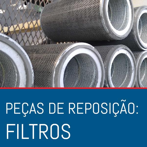 ICONES Reposição FILTROS